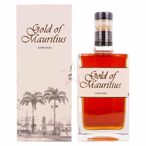 Gold of Mauritius Dark Rum 40,00% 0,70 Liter