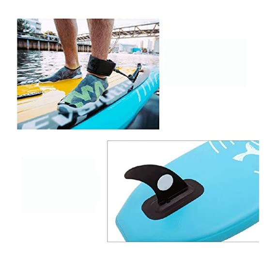 JNWEIYU Double Thickened Kayak, Two-in-one Inflatable Boat, High-Pressure Inflatable Seat, Non-Slip Deck, Elastic… 4 Sturdy two man kayak, ideal for lakes, fishing and sea shores; broad shape combines stability and comfort when out on the water Two person canoe comes with Boston valves for easy inflation and fast deflation; manometer for pressure control included The compact Canadian canoe comes with a durable polyester hull, two PVC side chambers and an ultra-durable tarpaulin shell for high stability and safety on the water