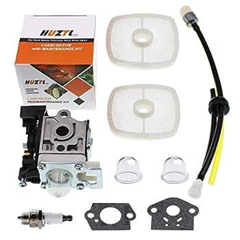 HUZTL Carburetor for Echo SRM225 GT225 SRM GT 225 GT225i GT225L PAS225 PE225 PPF225 SHC225 String Trimmer Carburetor Parts with Fuel line Spark Plug Repair Kit