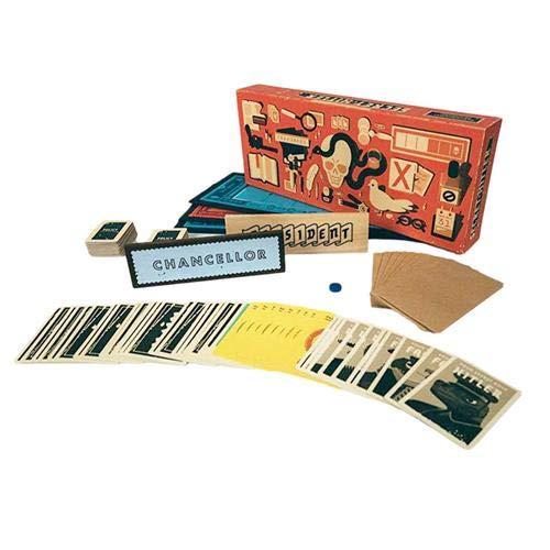 Fancylande Secret Hitler Kartenspiel Geheimer Hitler Brettspiel Puzzlespiel Personalausweis Versteckte Spiele Für Familie Und Freunde Party, Englische Ausgabe