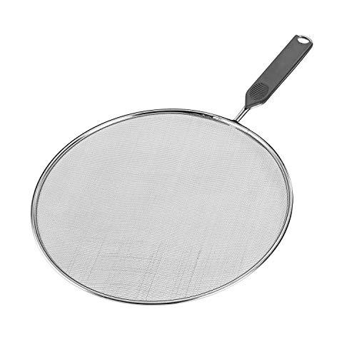 Westmark Spritzschutz, Durchmesser: 29 cm, Rostfreier Edelstahl, Kunststoff, Traditionell, Silber, 12862270