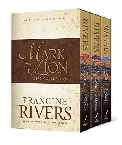 Mark of the Lion Series Gift Collection: Complete 3-Book Set (A Voice in the Wind, An Echo in the Darkness, As Sure as the Dawn) Christian Historical Fiction Novels Set in 1st Century Rome
