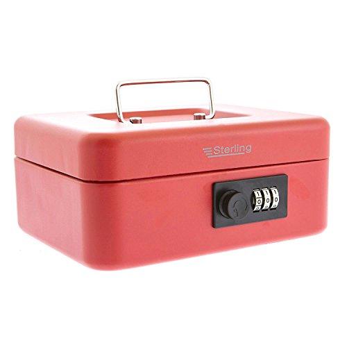 Sterling Locks Handkasse, Geldkassette mit Zahlenschloss, 20,3 cm, 701978
