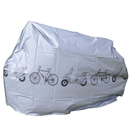 Dust Cover-mountain Bicycle Cover Vélo Voiture Électrique Dust Cover Imperméable À L'eau Etanche À La Pluie De Bâches De Soleil Bâche Mountain Bike Anti-Poussière Extérieure Pliable Et Durable (210x10