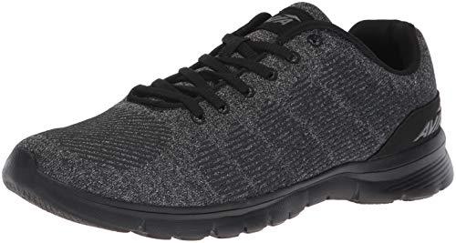 Avia Men's Avi-Rift Sneaker, Black/Iron Grey/Black, 11.5 Wide US