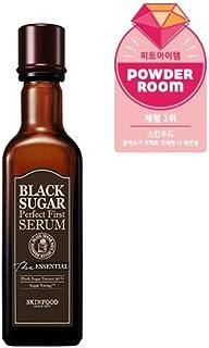 Skinfood black sugar perfect first serum the essential/黒糖完璧な最初の血清必須/120ml +60ea [並行輸入品]