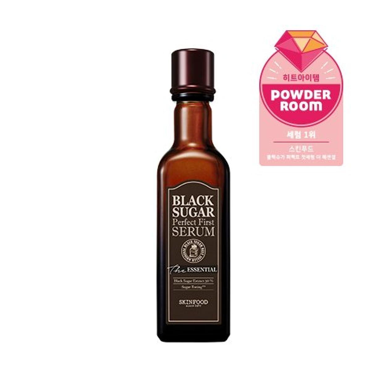 出席ブラウザ戸惑うSkinfood black sugar perfect first serum the essential/黒糖完璧な最初の血清必須/120ml +60ea [並行輸入品]