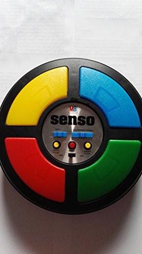 Senso (groß) MB Spiele Kult Klassiker Retro Original Spiele Elektronik Spiel 70er 80er