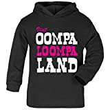 Photo de Cloud City 7 Charlie and The Chocolate Factory Oompa Loompa Land Baby and Kids Hooded Sweatshirt