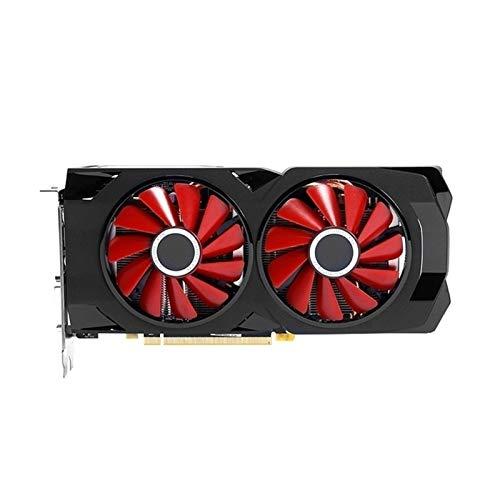 AFSDF Sistema De Enfriamiento Sin Ventilador Fit For XFX AMD Radeon RX580 4GB DDR5 Tarjeta De Video 256 bits PC Gaming Graphics Card PC Gamer Tarjeta Gráfica para Juegos
