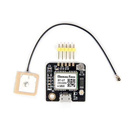 Jolicobo GT-U7 GPS-Empfängermodul Navigation Satelliten-Mikrocontroller GPS-kompatibler NEO-6M 51-Mikrocontroller STM32 mit aktiver Antenne