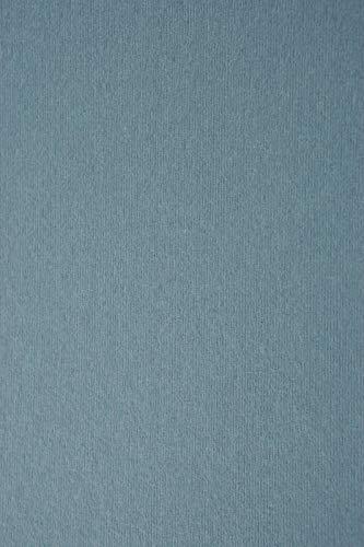10 Blatt Blau Karton 215g beidseitig filzmarkiert mit Linienstruktur DIN A4 210x297 mm Nettuno Oltremare, ideal für Hochzeit, Geburtstag, Ostern, Weihnachten, Einladungen, Visitenkarten, Diplome