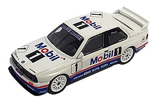 M3 E30#1 Emanuele Pirro Mobile Schnitzer Motorsport Team Winner Guia Race of Macau (1992) 1/64 Diecast Model Car by True Scale Miniatures MGT00089