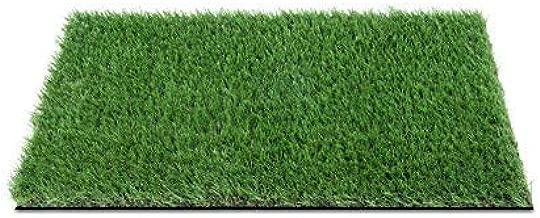 Mayur7star® Plastic Artificial Grass Bath/Door Mat (Green, 16x24 Inches)