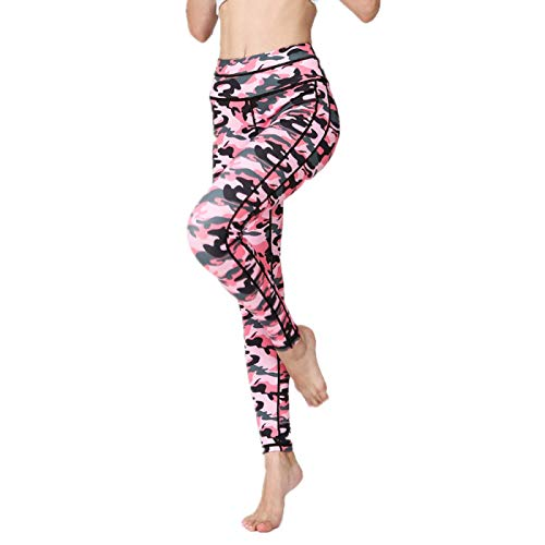 NIGHTMARE Pantalones de Yoga de Cintura Alta Pantalones de Yoga de Fitness para Mujer Running Gym Leggings de Entrenamiento Leggings de Gimnasio Power Stretch M