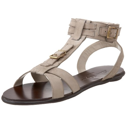 Robert Clergerie Women's Sonag Sandal,Ecru Nubuck,10.5 M US