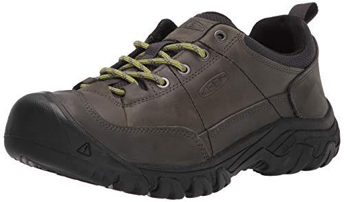 KEEN mens Targhee 3 Oxford Casual Hiking Shoe, Castor Grey/Evening Primrose, 7.5 US