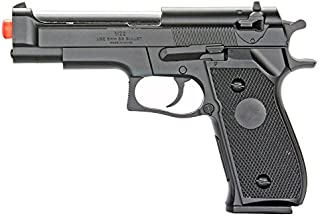 BBTac Airsoft Pistol BT-M22 Spring Loaded Gun Airsoft Handgun, High Power 300 FPS