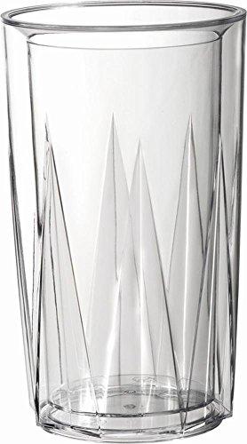 APS glacette-crystal-, SAN, con a foratura universale, a doppia parete, ø 13,5/10,5cm, H: 23cm