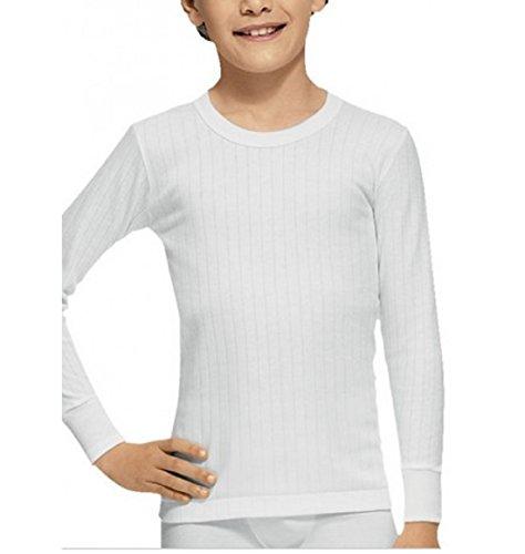 Abanderado 207 - Camiseta termica de niño (Blanco, 16)