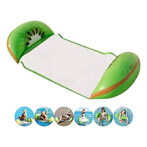 Opblaasbare Water Hangmat Drijvend Bed Lounge Stoel Drifter Zwembad Strand Float voor Volwassenen