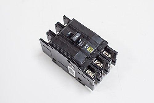 Thermal Magnetic Circuit Breaker, Miniature, QO Series, 240 VAC, 48 VDC, 70 A, 3 Pole, DIN Rail