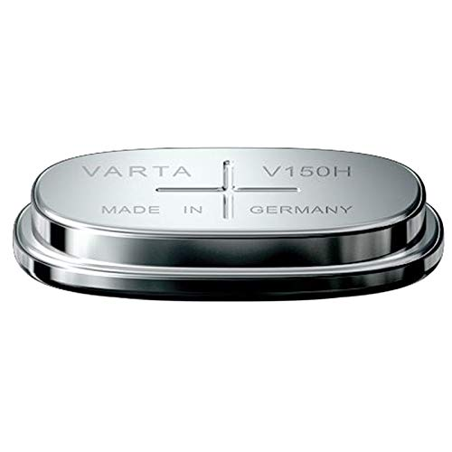 Varta V150H 1.2V 150mAh NiMH Button Cell Battery 55615101501 For Wireless Beacon, eCall, Vehicle Tracking, Car Alarm, Solar, Automatic Pipette, Electricity Metering, Server Backup Battery, RTC, MBU