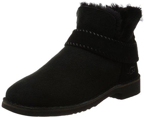 UGG Women's Mckay Winter Boot, Black, 9 B US