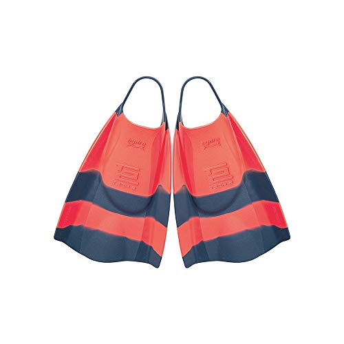 Hydro Tech 2 Bodyboard Fins Tang/Navy Small