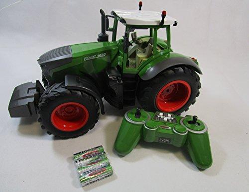 Jamara RC Traktor Fendt 1050 Vario Maxi Schlepper + 4 Batterien 37,5cm Länge 405035-B