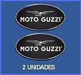 ECOSHIRT Pegatinas Stickers Bike Guzzi Ref: DP160 AUFKLEBER Decals AUTOCOLLANTS ADESIVI Moto Decals (5 CM Ancho/Width)