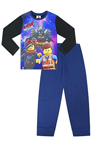 Lego Movie 2 Official Emmet Batman Unikitty Boys Long Pyjamas w19 Azul Azul 9-10 Años