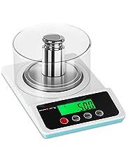 Steinberg Balanza De Precisión Báscula SBS-LW-500 (Con Protector, kg/g/ct/tl/lb/oz, 0,01 g, Rango de pesaje: 0,05 g - 500 g)