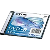 48575 DVD Recordable Media - DVD-R - 16x - 4.70 GB Slim Jewel Case