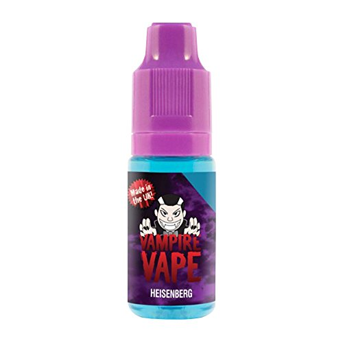 Vampire Vape Heisenberg - E-Liquid ohne Tabak/Nikotin - kein Verkauf unter 18 Jahren - 0 mg Nikotin - Sparpack 2 x 10 ml