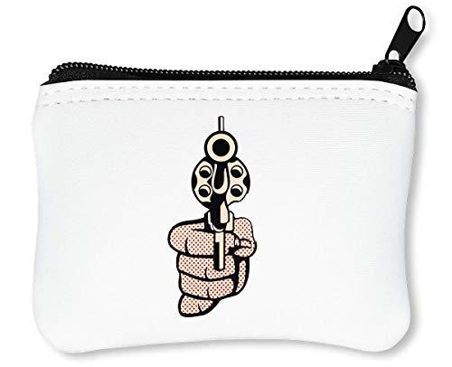 Bang Bang I Shoot You Down Reißverschluss-Geldbörse Brieftasche Geldbörse