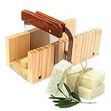 Seifenherstellung Adjustable Holz-Seifen-Form handgemachte Brotmesser Form mit 2 Wellen Und Gerade...
