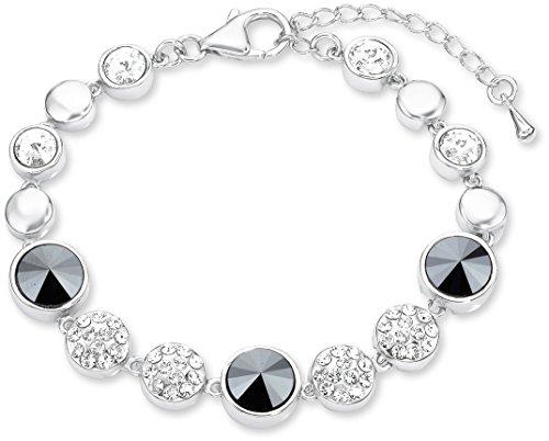 Noelani Damen-Armband längenverstellbar veredelt mit Swarovski Kristallen 16+4 cm