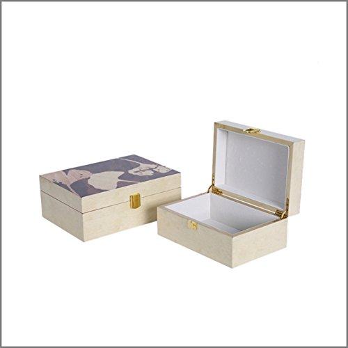neo-klassieke woonkamer huis sieraden doos desktop home decoratie TV kast Dresser sieraden box decoratie