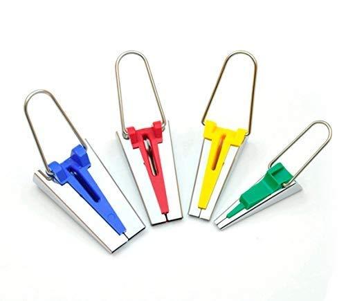 Knuffel Set van 4 Verschillende grootte Stof Bias Tape Maker Tool voor het naaien Quilting 6mm 12mm 18mm 25mm