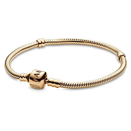 Pandora Pulsera para mujer de oro amarillo 585 de 14 quilates (55702-20)