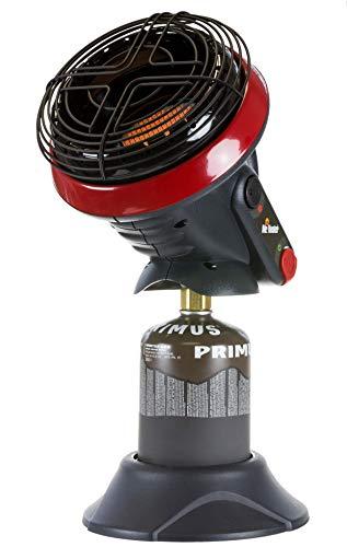 Mr. Heater Gasheizung Little Buddy inkl. Adapter für Gaskartuschen mit 7/16-Gewinde, mit Einer Kartusche Wintergas (450g), 1,1kW Leistung, Outdoor-/Campingheizung