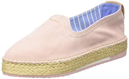 GANT Footwear Damen Peachtown Espadrilles, Pink (Seashell pink G57), 37 EU