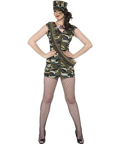 Déguisement militaire femme robe et casquette