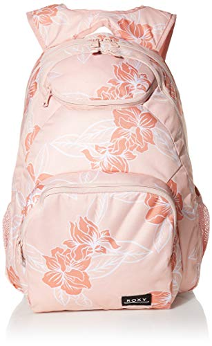 Roxy Damen Shadow Swell Backpack Rucksäcke, Silber Pink Philly 202, 1 Größe