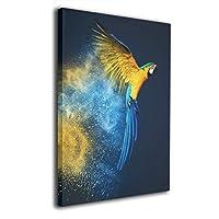 Skydoor J パネル ポスターフレーム オウム インテリア アートフレーム 額 モダン 壁掛けポスタ アート 壁アート 壁掛け絵画 装飾画 かべ飾り 50×40