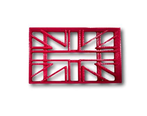 British/England Flag Cookie Cutter