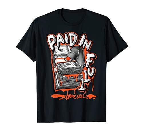 P.I.F Graphic Match Jordan 13 Starfish T-Shirt
