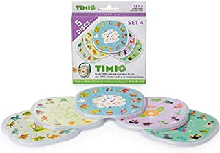 TIMIO 4 TMD-04 Disc Set for Interactive Audio Player