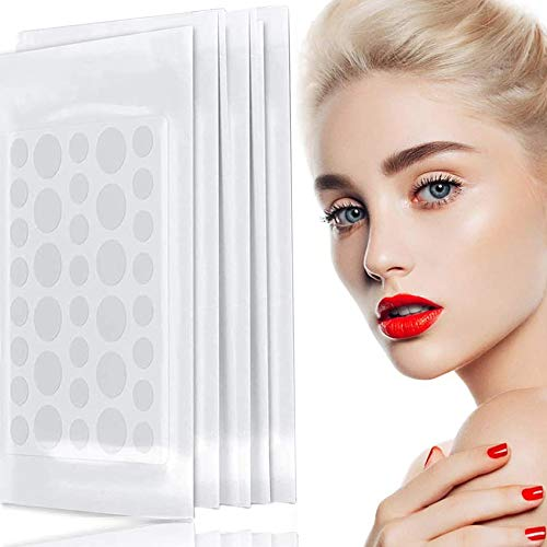 GeekerChip 180 pimple patch,pickel patch Pflaster Unsichtbar Pickelpatches für Gesicht Akne Behandlung Aknepflege(12mm+8mm)